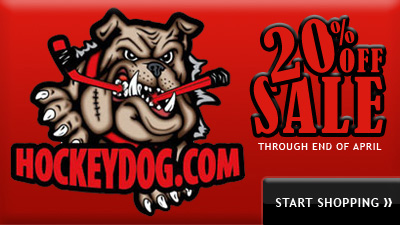 Enjoy 20 Percent Off Sale at All Hockey Dog and Sports Dog Locations