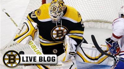 Live Blog: Sabres at Bruins