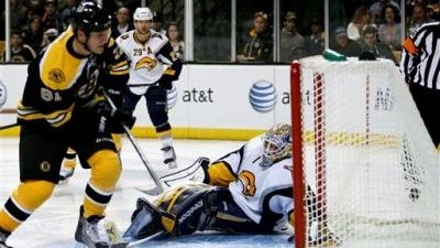 Bruins Stop Sabres With Offensive Outburst in 4-2 Win