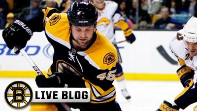 Live Blog: Penguins at Bruins