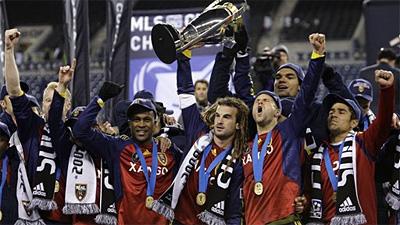 Real Salt Lake Wins MLS Title on Penalty Kicks