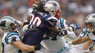 Running Game Finally Given Its Due in Patriots' Win Over Panthers