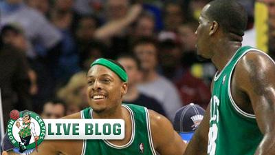 Live Blog: Celtics at Grizzlies