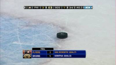 Bruins Fall Flat at Home Against Lowly Flyers