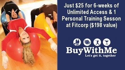 $25 for Six Weeks of Unlimited Access at any Fitcorp Location ($198 Value)
