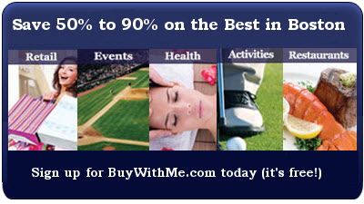 Save 50 to 90 Percent on Boston Deals with BuyWithMe.com