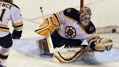 Tim Thomas, Bruins Take Down Panthers 2-1