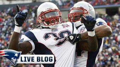 Live Blog: Patriots at Texans