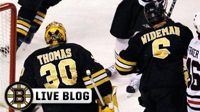 Live Blog: Rangers at Bruins