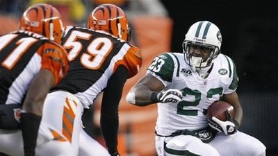 Shonn Greene Leads Jets to 24-14 Upset of Bengals