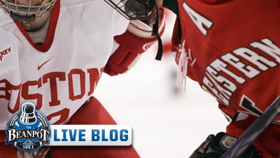 BU Holds Off Northeastern 2-1 For Second Straight Appearance in Beanpot Finals