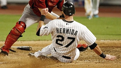 Third Time's The Charm for Jeremy Hermida's New Jersey Number