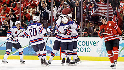 Big Hockey Win for USA Over Canada, But It Was No Miracle