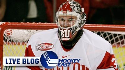Hockey East Live Blog: Vermont Dominates BU 7-3