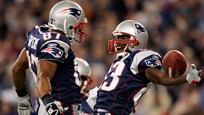 Patriots Draft Class of 2002 Succeeded in Landing David Givens, Deion Branch