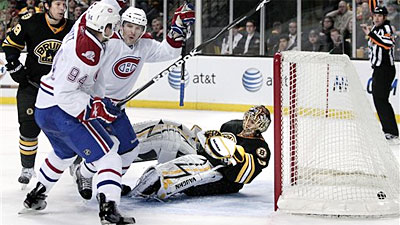 Bruins Allow Four Unanswered Goals, Fall 4-1 to Canadiens