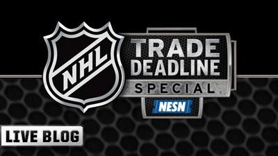 NHL Trade Deadline Live Blog
