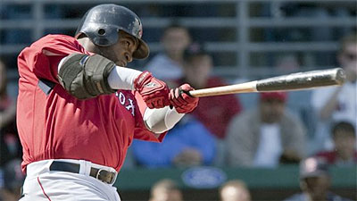 David Ortiz Homers as Red Sox Top Northeastern 15-0 in First Exhibition Game