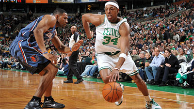 Celtics Declaw Bobcats 104-80 Behind Paul Pierce, Bench