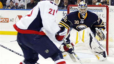 Capitals Throttle Sabres 3-1 in Ryan Miller's Return to Buffalo