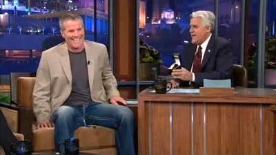 Brett Favre Discusses 2010 Season for First Time With Jay Leno on The Tonight Show