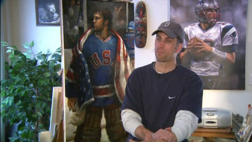 Artist Brian Fox Captures an American Hockey Miracle