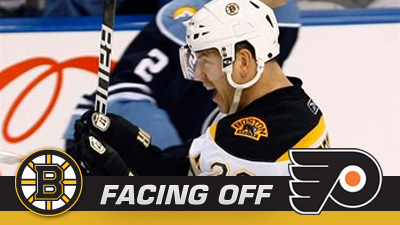 Stumbling Bruins Attempt to Reverse Course Against Flyers