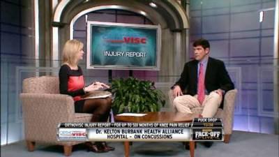 Dr. Kelton Burbank Discusses Concussions With Kathryn Tappen