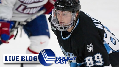 Hockey East Live Blog: Maine Takes Down BU 5-2, Will Face Boston College in Finals