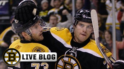 Bruins Live Blog: Offense Explodes, Tim Thomas Earns Shutout in 5-0 Win Over Flames