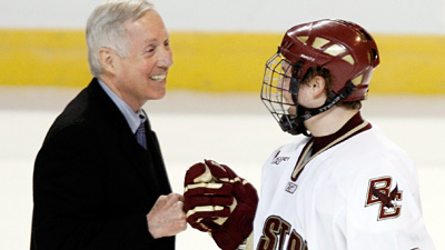 Versatility Leads BC to Third Frozen Four in Four Years
