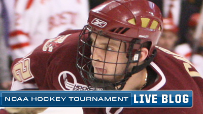 NCAA Hockey Live Blog: Boston College Holds Off Alaska, Escapes With 3-1 Win