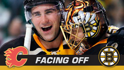 Bruins Continue to Chase Playoffs Against Equally Desperate Flames