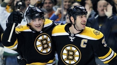 Bruins Stay in Playoff Hunt With Big Win Over Flames