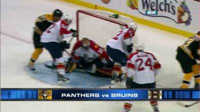 Bruins Continue Trend, Fall to Panthers After Dominating Devils