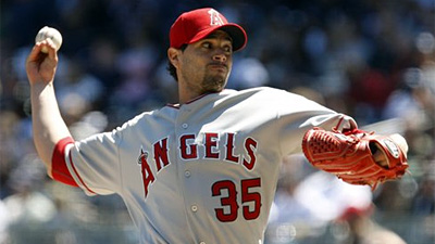 Joel Pineiro Pitches Slumping Angels Past Yankees 5-3