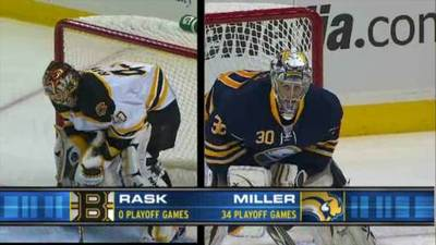 Bruins Fall to Sabres 2-1 in Game 1 of Quarterfinals