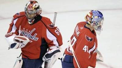 Capitals Coach Bruce Boudreau Undecided on Starting Goalie for Game 3 Against Canadiens