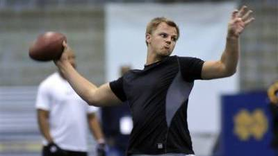 Jimmy Clausen Tops List of Remaining Available Players in NFL Draft