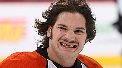 Dan Carcillo's Antics in Round 2 an Embarrassment to Fighting Flyers of Yore