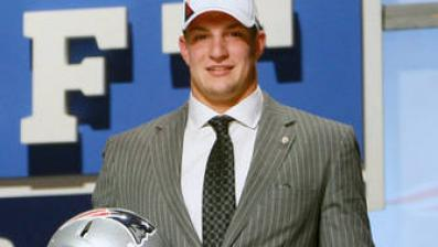 Rob Gronkowski's Draft-Day Emotions Will Translate Well to Football Field for Patriots