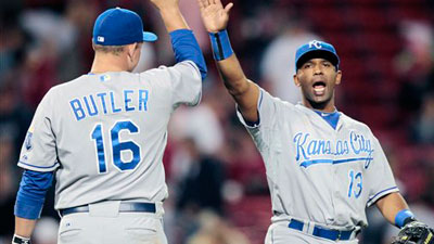 Yuniesky Betancourt, Royals Pound Red Sox in 12-5 Victory