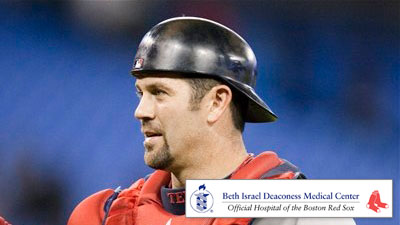 Stretching Crucial to Jason Varitek's Ability to Stay Fresh Behind Plate