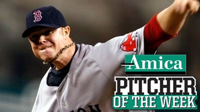 Jon Lester Keeps Red Sox Rolling, Earns Amica Pitcher of the Week Honors