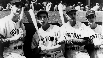 Ted Williams, Bobby Doerr, Johnny Pesky, Dom DiMaggio Honored With Statue at Fenway Park