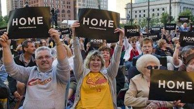 Cavaliers Use Home Court Advantage to Convince LeBron James to Stay Home