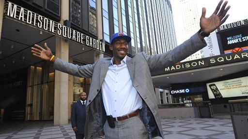 Amare Stoudemire Vows to Try to Lure LeBron James to Knicks