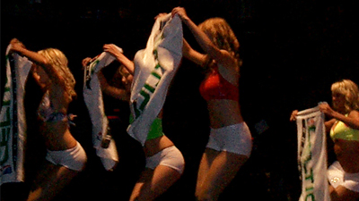 Final Auditions for Celtics Dancers Draws Crowd at House of Blues