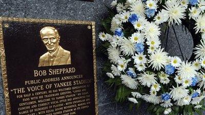 Members of the Yankees Miss Bob Sheppard's Funeral