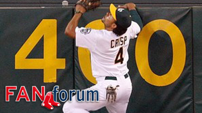 Should Red Sox Try to Reacquire A's Outfielder Coco Crisp?